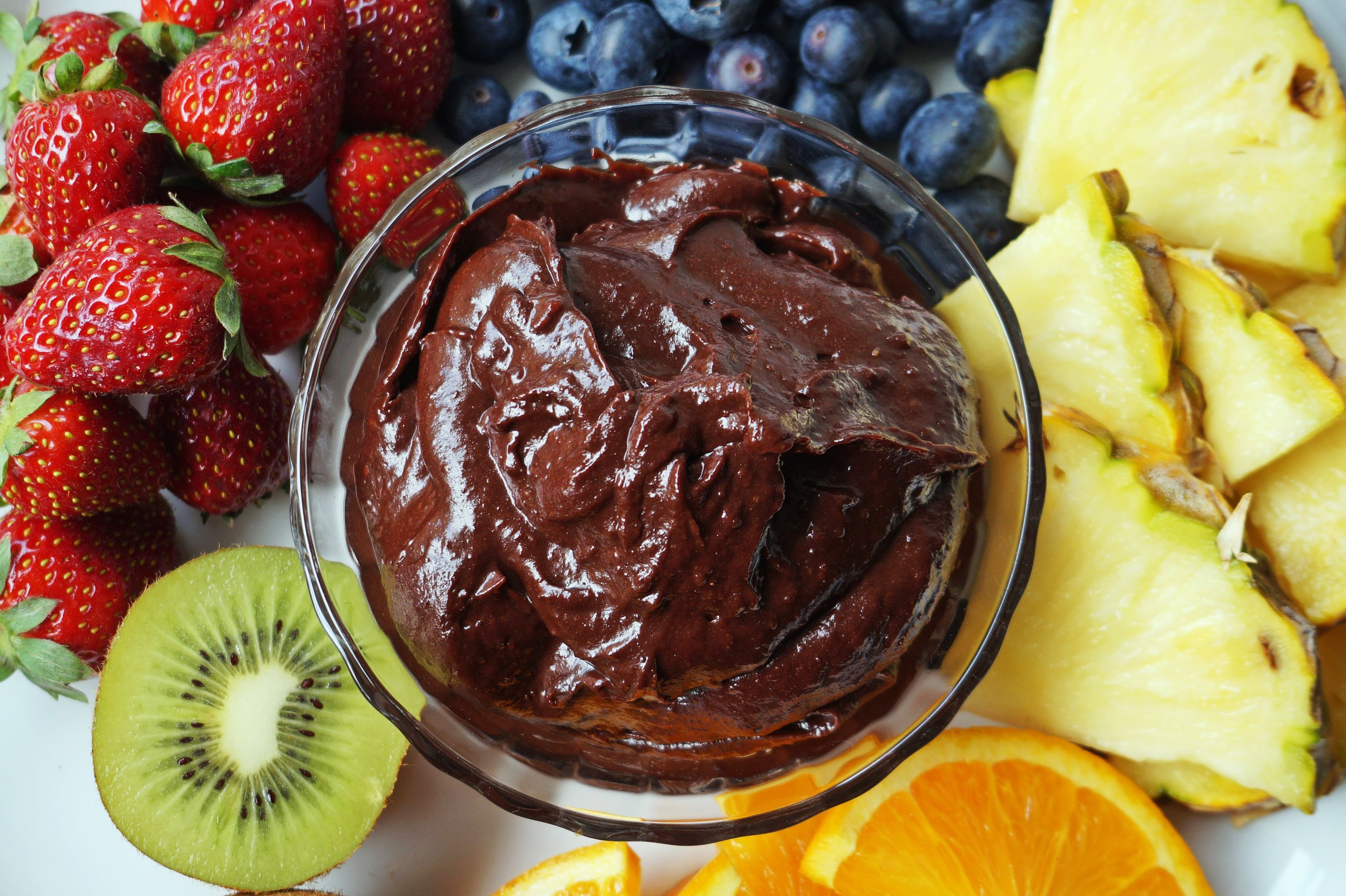Chocolate Fudge Dip vegan