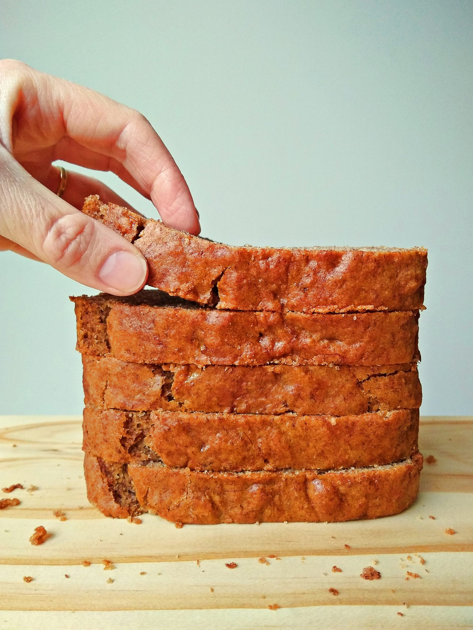 Easy Eggless Banana Bread