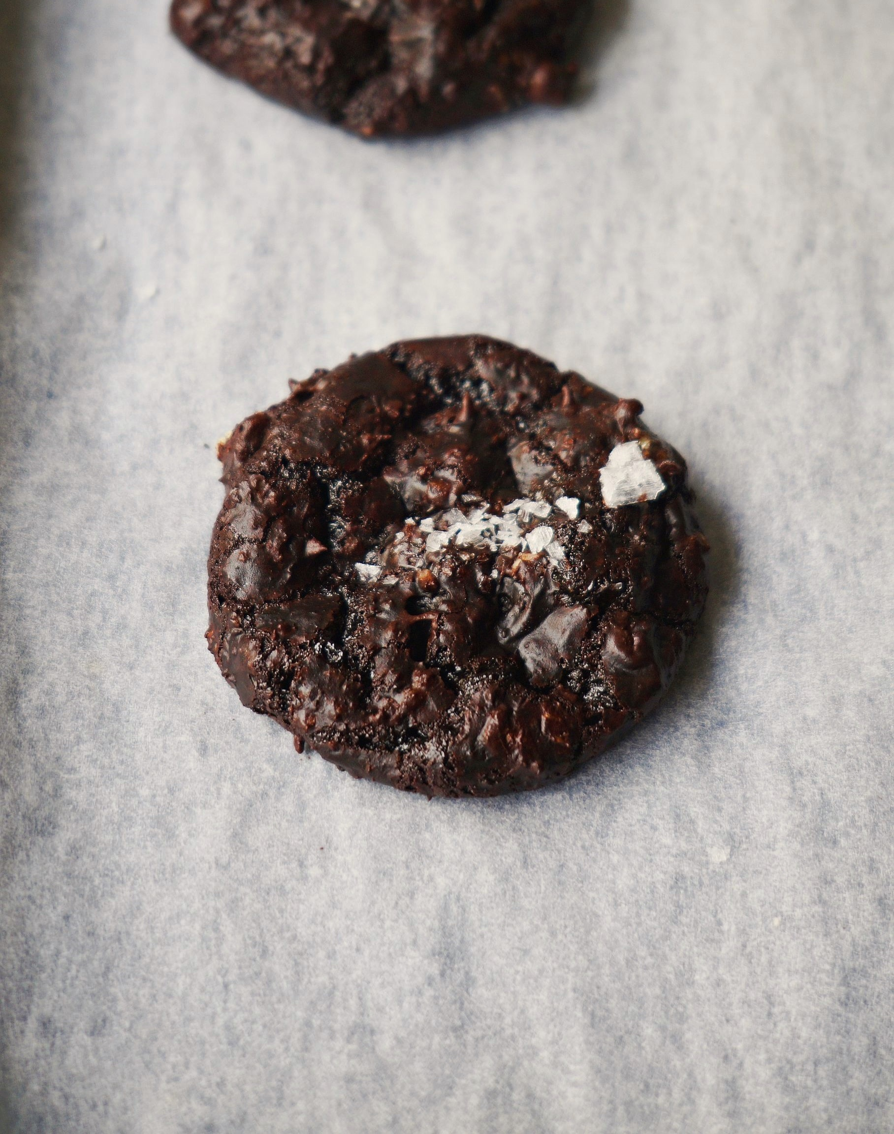 Vegan Flourless Fudge Cookies